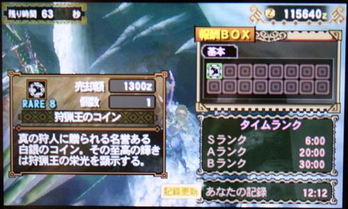 闘技大会ガブル+トトス亜種2(MH3G)