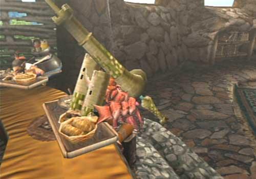 村長と食事