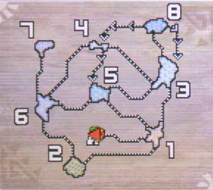 天空山地図
