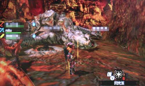 nobuさんとの狩り