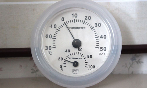 室内トイレの気温