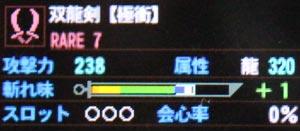 双龍剣【極衝】