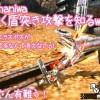 【MH4G】村クエ★4までクリア! チャアク盾突きをようやく使いはじめました^^