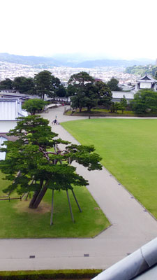 櫓からの風景