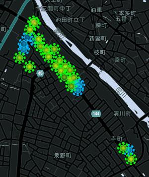 寺町MAP