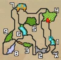 渓流MAP