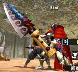 Kazuさんの包丁大剣