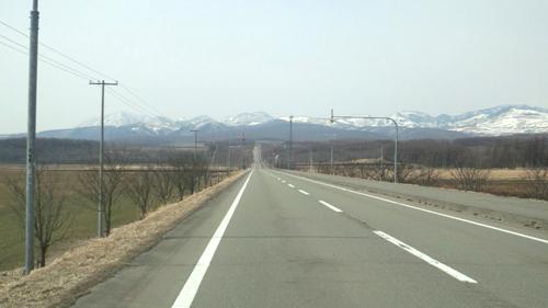 しんむら牧場への道