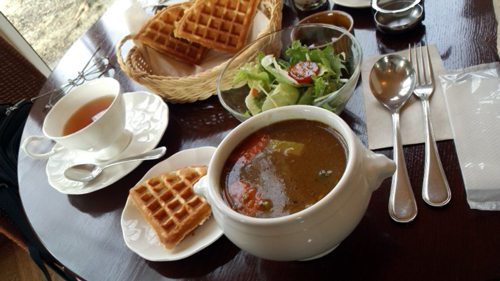 牧場スープカレーセット