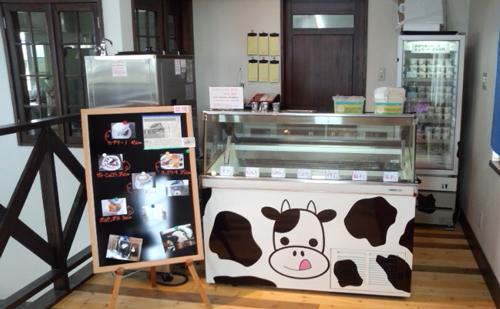アイス工房ドリーム店内
